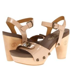 "Flogg ""Fantastic "" ankle strap leather sandal"